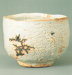 Tea bowl, Shino ware